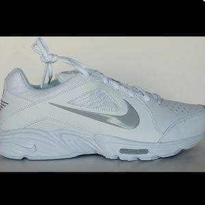 Nike View III Men's White Leather Walking Shoes